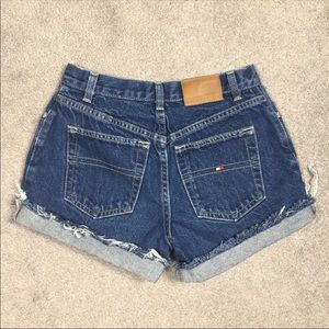 Tommy Hilfiger High Waisted Shorts size 8